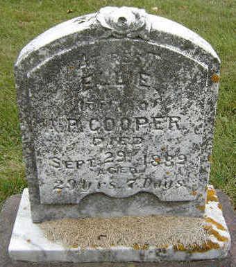 MAXSON COOPER, ELLIE - Delaware County, Iowa   ELLIE MAXSON COOPER