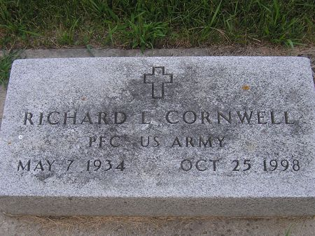 CORNWELL, RICHARD - Delaware County, Iowa | RICHARD CORNWELL
