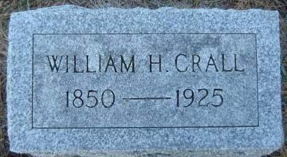 CRALL, WILLIAM H. - Delaware County, Iowa | WILLIAM H. CRALL