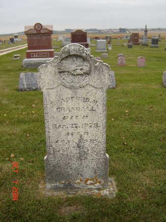 CRANDALL, BRADFORD M. - Delaware County, Iowa | BRADFORD M. CRANDALL