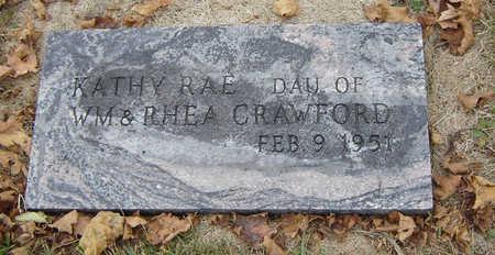 CRAWFORD, KATHY RAE - Delaware County, Iowa   KATHY RAE CRAWFORD