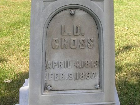 CROSS, L. D. - Delaware County, Iowa | L. D. CROSS