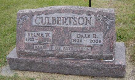 CULBERTSON, DALE E. - Delaware County, Iowa   DALE E. CULBERTSON