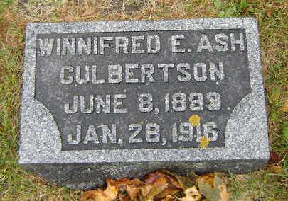 CULBERTSON, WINNIFRED E. - Delaware County, Iowa   WINNIFRED E. CULBERTSON