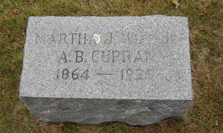 WOOLDRIDGE CURRAN, MARTHA J. - Delaware County, Iowa | MARTHA J. WOOLDRIDGE CURRAN