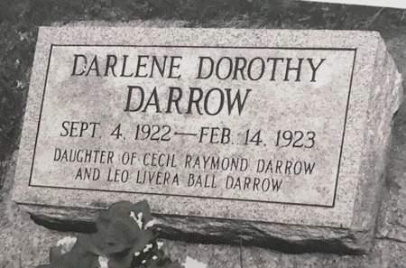 DARROW, DARLENE DOROTHY - Delaware County, Iowa   DARLENE DOROTHY DARROW