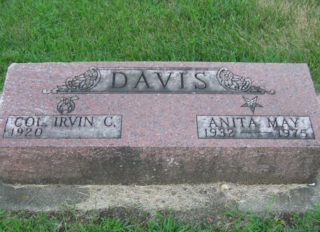 DAVIS, ANITA MAY - Delaware County, Iowa | ANITA MAY DAVIS
