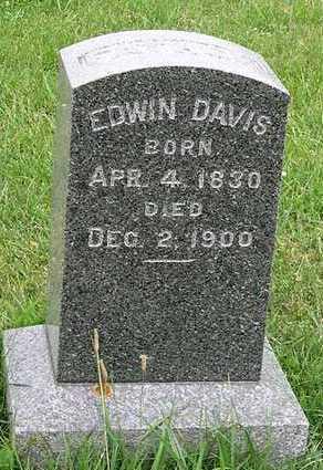 DAVIS, EDWIN - Delaware County, Iowa   EDWIN DAVIS