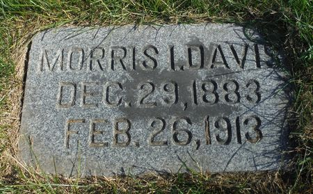 DAVIS, MORRIS I. - Delaware County, Iowa | MORRIS I. DAVIS