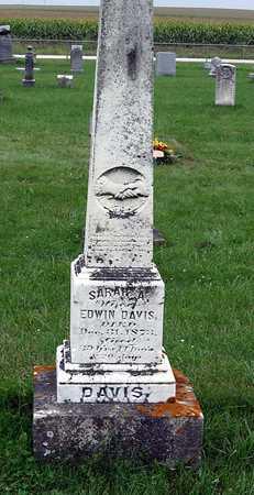 DAVIS, SARAH A. - Delaware County, Iowa   SARAH A. DAVIS