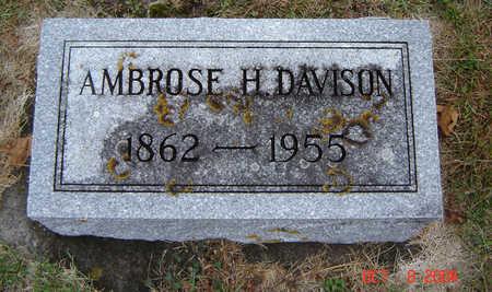 DAVISON, AMBROSE H. - Delaware County, Iowa | AMBROSE H. DAVISON
