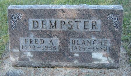 DEMPSTER, BLANCHE - Delaware County, Iowa | BLANCHE DEMPSTER