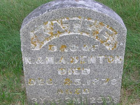 DENTON, KATE E. - Delaware County, Iowa | KATE E. DENTON