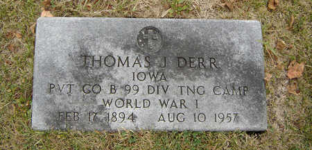 DERR, THOMAS J. - Delaware County, Iowa | THOMAS J. DERR