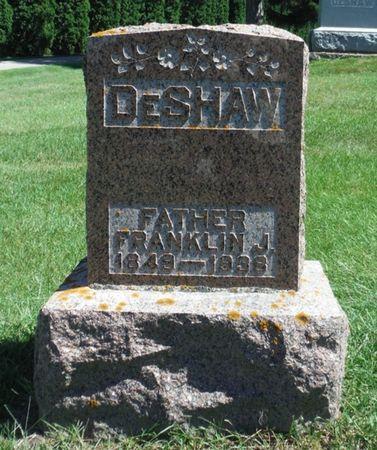 DESHAW, FRANKLIN JAMES - Delaware County, Iowa   FRANKLIN JAMES DESHAW