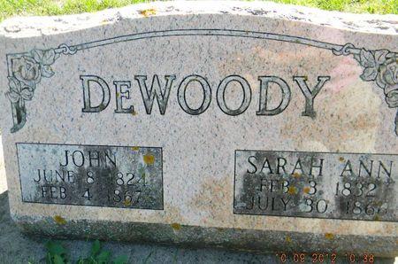 DE WOODY, JOHN - Delaware County, Iowa | JOHN DE WOODY