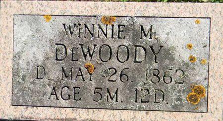 DE WOODY, WINNIE M. - Delaware County, Iowa | WINNIE M. DE WOODY