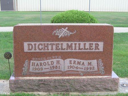DICHTELMILLER, HAROLD H. - Delaware County, Iowa | HAROLD H. DICHTELMILLER