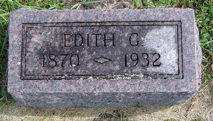 DILGER, EDITH G. - Delaware County, Iowa | EDITH G. DILGER