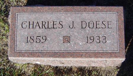 DOESE, CHARLES J. - Delaware County, Iowa | CHARLES J. DOESE