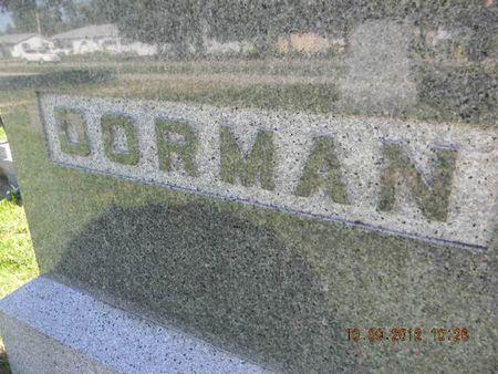DORMAN, FAMILY STONE - Delaware County, Iowa | FAMILY STONE DORMAN