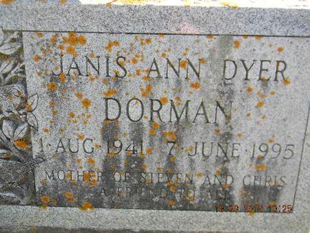 DYER DORMAN, JANIS ANN - Delaware County, Iowa | JANIS ANN DYER DORMAN