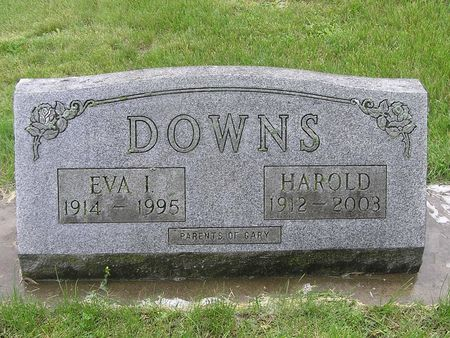 DOWNS, HAROLD - Delaware County, Iowa   HAROLD DOWNS