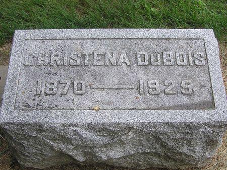 DUBOIS, CHRISTENA - Delaware County, Iowa | CHRISTENA DUBOIS
