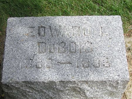 DUBOIS, EDWARD I. - Delaware County, Iowa   EDWARD I. DUBOIS