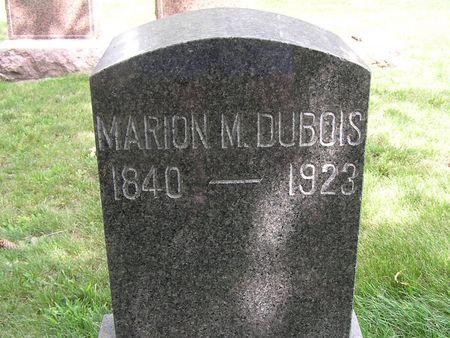 DUBOIS, MARION M. - Delaware County, Iowa | MARION M. DUBOIS