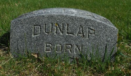 COMSTOCK DUNLAP, CLARA M. - Delaware County, Iowa | CLARA M. COMSTOCK DUNLAP