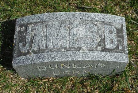 DUNLAP, JAMES BRUCE - Delaware County, Iowa | JAMES BRUCE DUNLAP
