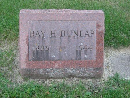 DUNLAP, RAY H. - Delaware County, Iowa | RAY H. DUNLAP