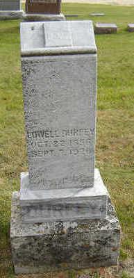 DURFEY, LOWELL - Delaware County, Iowa | LOWELL DURFEY