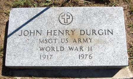 DURGIN, JOHN HENRY - Delaware County, Iowa | JOHN HENRY DURGIN