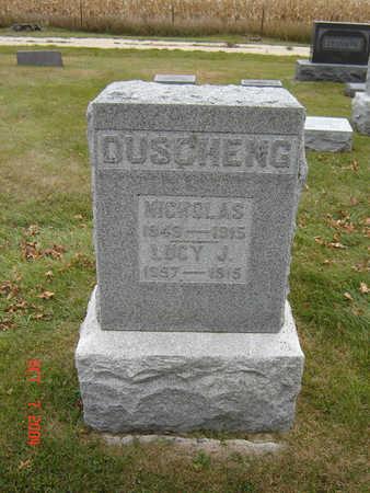 DUSCHENG, NICHOLAS - Delaware County, Iowa   NICHOLAS DUSCHENG
