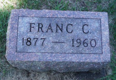 EARNHART, FRANC C. - Delaware County, Iowa   FRANC C. EARNHART