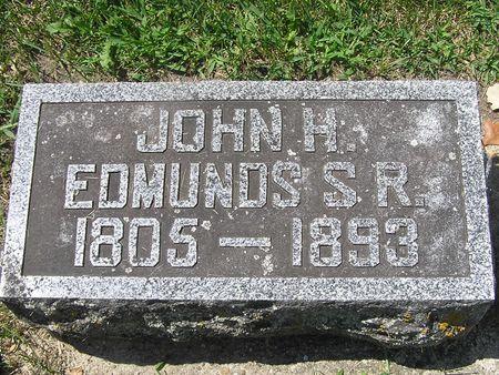 EDMINDS, JOHN H. SR. - Delaware County, Iowa | JOHN H. SR. EDMINDS