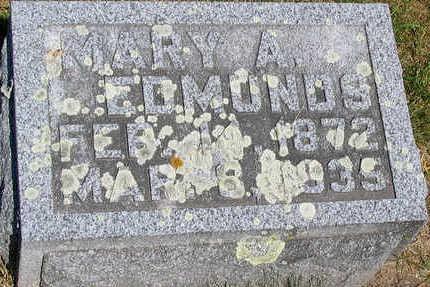 SEWARD EDMONDS, MARY ANTHA - Delaware County, Iowa | MARY ANTHA SEWARD EDMONDS