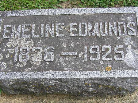 EDMUNDS, EMELINE - Delaware County, Iowa | EMELINE EDMUNDS