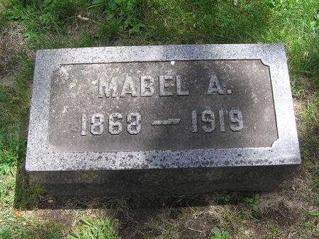 EDMUNDS, MABEL A. - Delaware County, Iowa | MABEL A. EDMUNDS