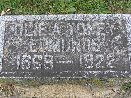 EDMUNDS, OLIE A. - Delaware County, Iowa   OLIE A. EDMUNDS