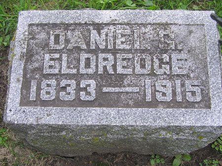 ELDREDGE, DANIEL G. - Delaware County, Iowa | DANIEL G. ELDREDGE