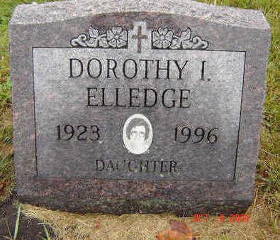 ELLEDGE, DOROTHY I. - Delaware County, Iowa | DOROTHY I. ELLEDGE