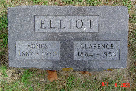 ELLIOT, CLARENCE - Delaware County, Iowa | CLARENCE ELLIOT