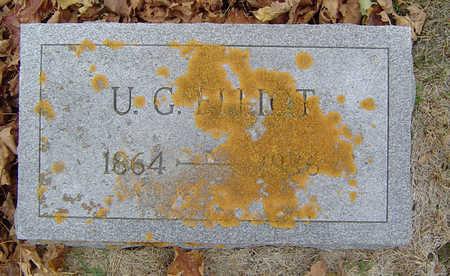 ELLIOT, ULYSSES GRANT - Delaware County, Iowa | ULYSSES GRANT ELLIOT