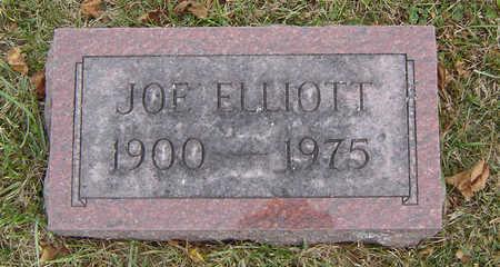ELLIOTT, JOE - Delaware County, Iowa   JOE ELLIOTT
