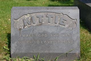 ELLIS, KITTIE - Delaware County, Iowa   KITTIE ELLIS