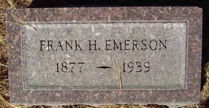 EMERSON, FRANK H. - Delaware County, Iowa | FRANK H. EMERSON