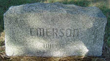 EMERSON, IDA M. - Delaware County, Iowa | IDA M. EMERSON